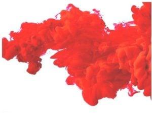 Psicología del color rojo oscuro